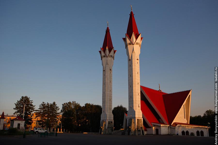 Мечеть ляля тюльпан уфа