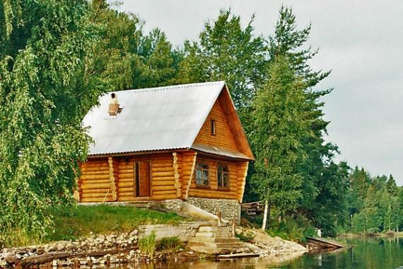 рыбацкий домик на валдае