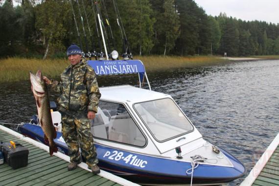 Рыбалка на яни