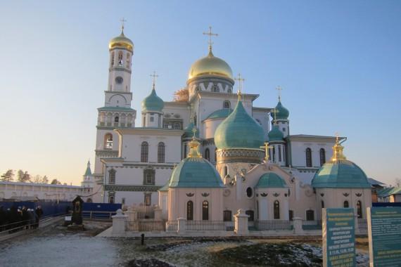 Как добраться до новоиерусалимского монастыря