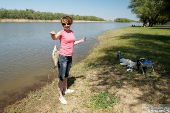 где хорошая летняя рыбалка